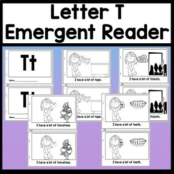 Letter T Activities {Letter T Book and 5 Letter T Worksheets!}