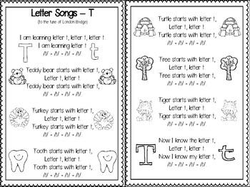Letter Tt Activities Pack (CCSS)