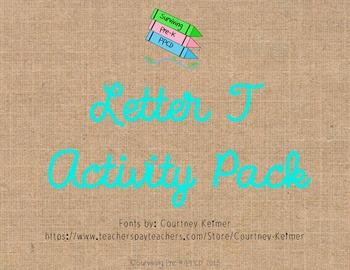 Letter T Activity Pack