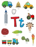 Letter T Activity Packet