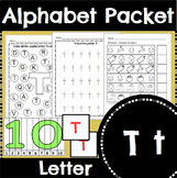 Letter T Activity and Center Packet