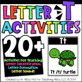 Letter T Alphabet Activities   Recognition, Formation and Sounds