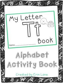Letter T: Alphabet Activity Book