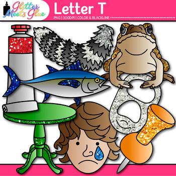Letter T Alphabet Clip Art {Teach Phonics, Recognition, an