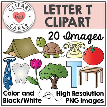 Letter T Alphabet Clipart by Clipart That Cares