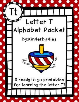 Letter T Aphabet Packet