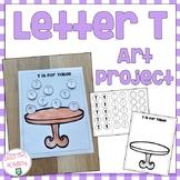 Letter T Art Project