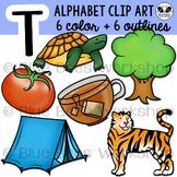 Letter T Clip Art Alphabet / Beginning Sound T