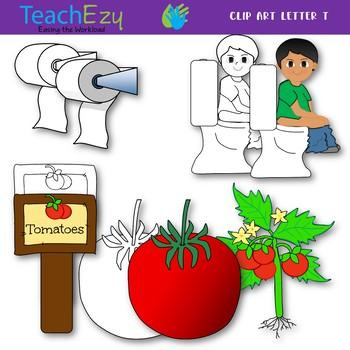 Letter T Clip Art Pack