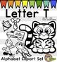 alphabet Clip Art: Letter T Phonics Clipart Set - Clip Art