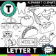 Letter T Clipart - 20 images! Personal or Commercial use