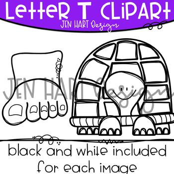 Letter T Clipart
