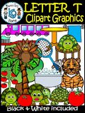 Letter T- Clipart Graphics- Commercial & Personal Use