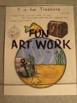 Letter T Fun Alphabet Project