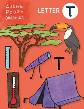 Letter T Graphics
