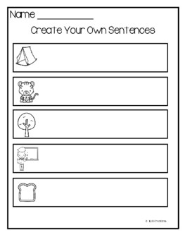 Letter T - Picture Word Cards