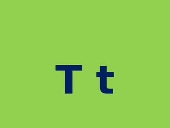 Letter T PowerPoint