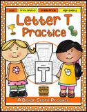 Letter T Practice Printables