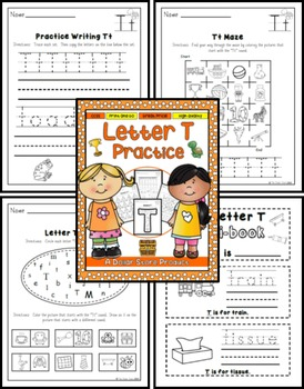 Letter T Practice Printables