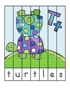 Letter T - Preschool Unit