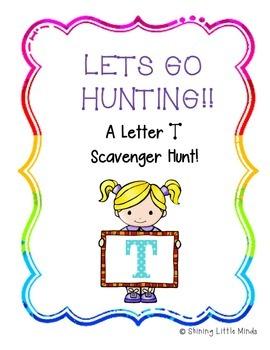 Letter T Scavenger Hunt
