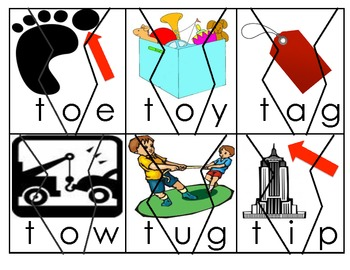 Letter T Word Puzzles