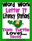 Letter T Word Work Literacy Station Pack