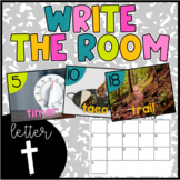 Letter T Write the Room- Literacy Station