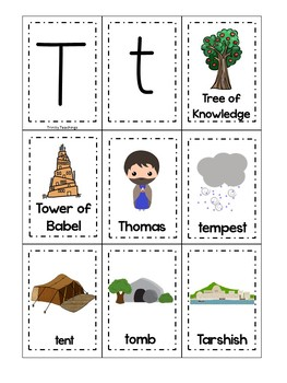 Letter T is for Tree of Knowledge. Bible Letter of the Week.