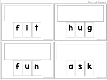 Letter Task Cards [ABLLS-R Aligned Q1-4, Q6-8, T1]