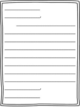 Letter Template