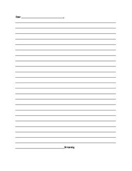 Letter Template Blank