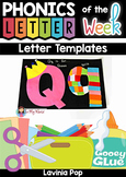 Letter Templates for Upper and Lower Case Letters