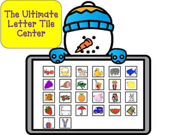 Letter Tile Activities:  ABC Order, Phonemic Awareness, Le