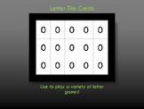 Letter Tile Cards