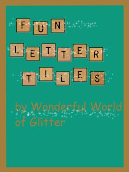 Letter Tile Clip Art