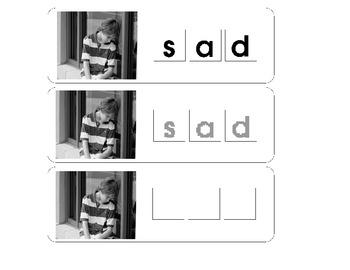 Letter Tile Mats: Emotions