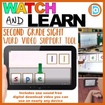 Letter Tile Sight Word Builder Video | 2nd Grade | Spell