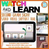 Letter Tile Sight Word Builder Video | 2nd Grade | Turn