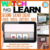 Why | 2nd Grade Sight Word Building Video | 3 Letter Word