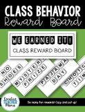 Letter Tiles Class Reward Board