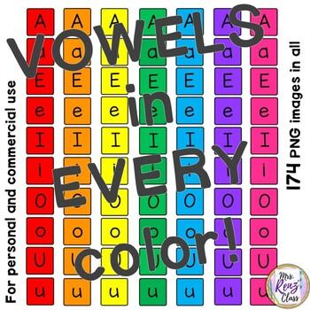 Letter Tile Clip Art Numbers and Symbols - 140 Letter Tiles