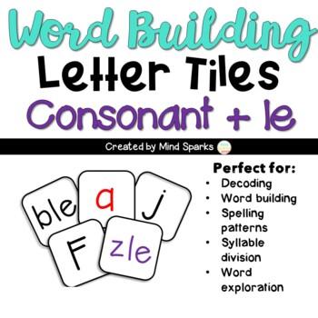 Letter Tiles --Consonant +le