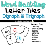 Letter Tiles---Digraphs and Trigraphs