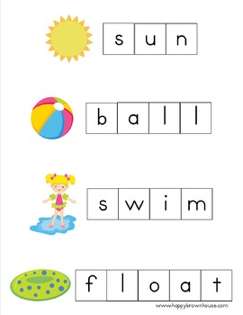 Letter Tiles Spelling Mats Bundle (Seasons & Celebrations)