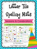 Letter Tiles Spelling Mats Bundle (Seasons & Celebrations)