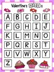 Letter Tiles: Valentine's Day FREEBIE