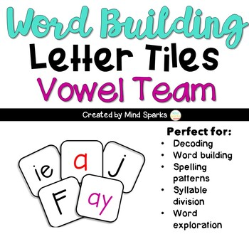 Letter Tiles-- Vowel Team