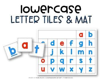 Letter Tiles & Work Mat