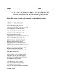 Letter To N.Y. (For Louise Crane) Elizabeth Bishop Poetry